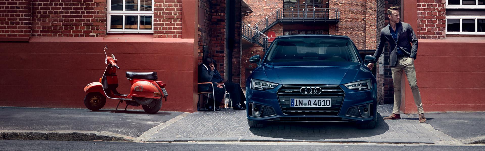 Die neue A4 Limousine