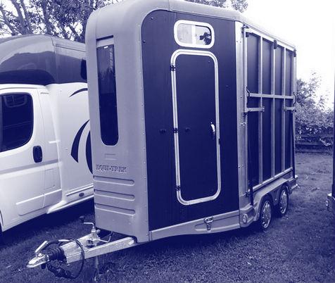 Laadgewicht paardenvrachtwagen