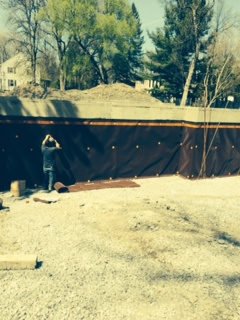 waterproofing membrane contractors - basement waterproofing service, waterproofing for fooundation deck cement masonry Montreal Laval Longueuil Qc