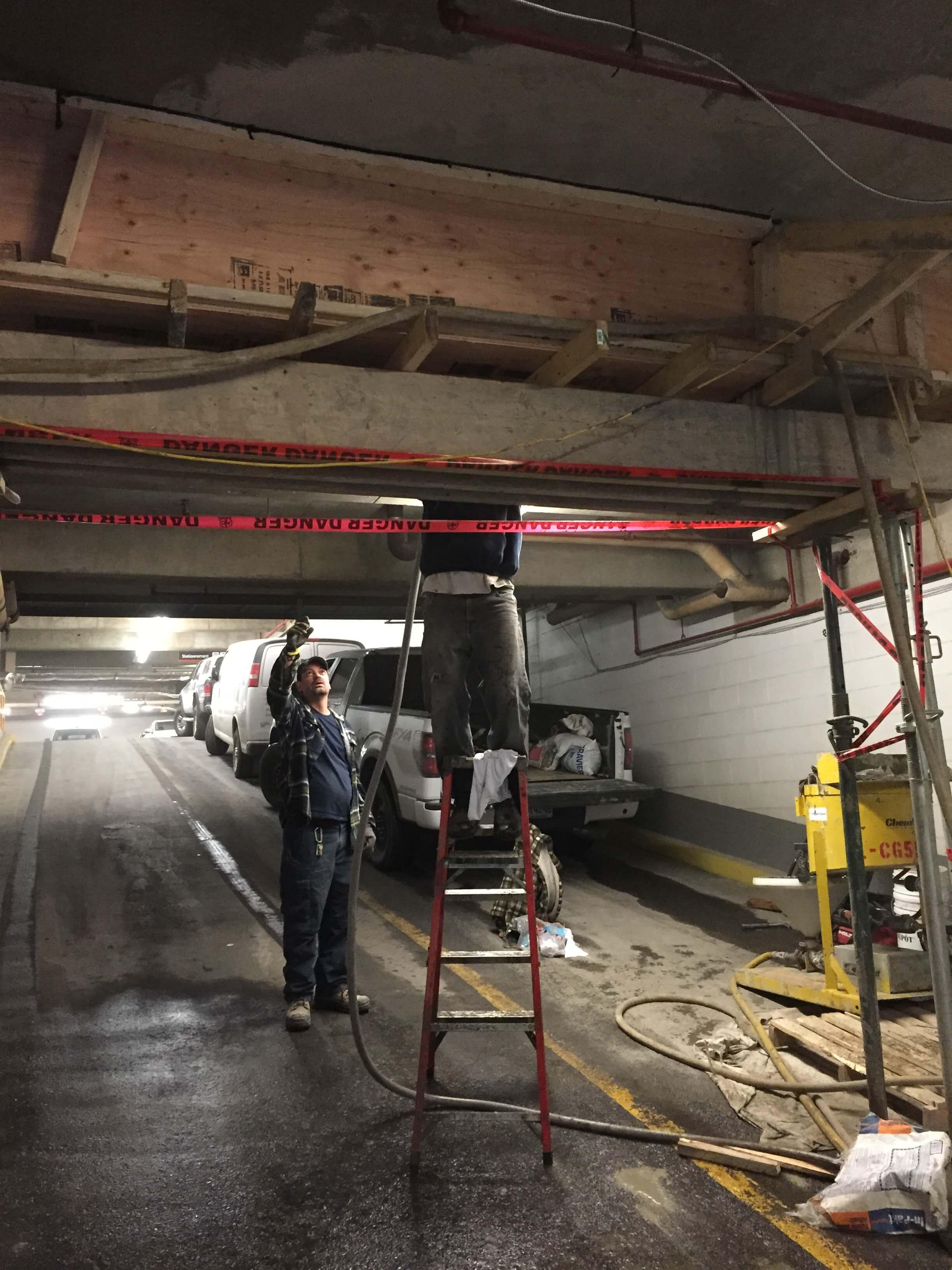 concrete repairs and concrete repair contractors