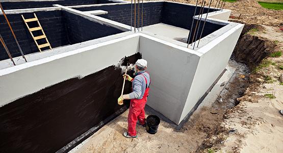 membrane imperm able pour fondation de b timents murs de. Black Bedroom Furniture Sets. Home Design Ideas