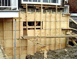 Foundation repairs - concrete foundation repair, crack, basement, foundation repair contractor services Montreal Laval Longueuil Qc