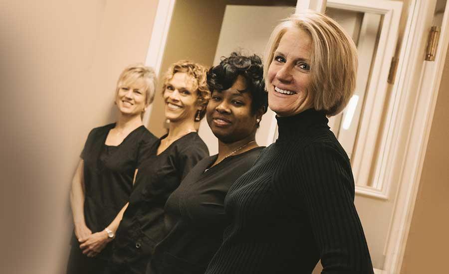 Photo of the Germain Dental team
