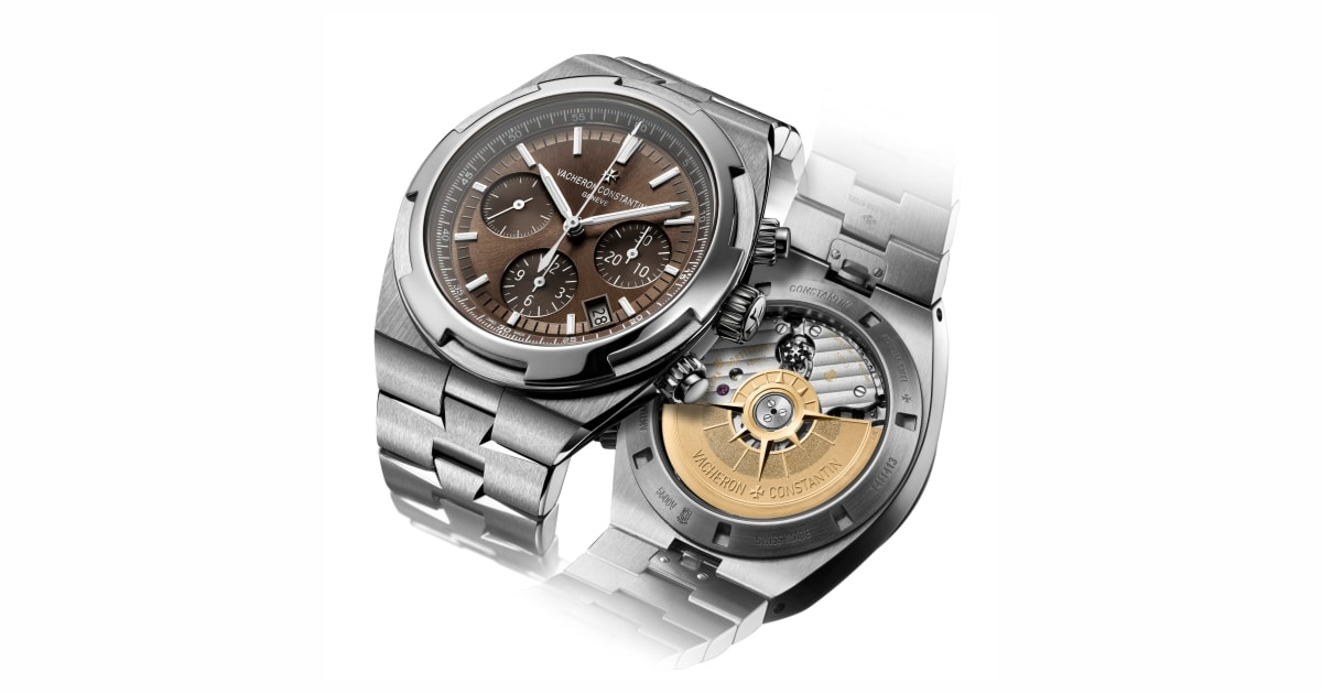 Vacheron Constantin reveals the Overseas Collection with new  brown dials