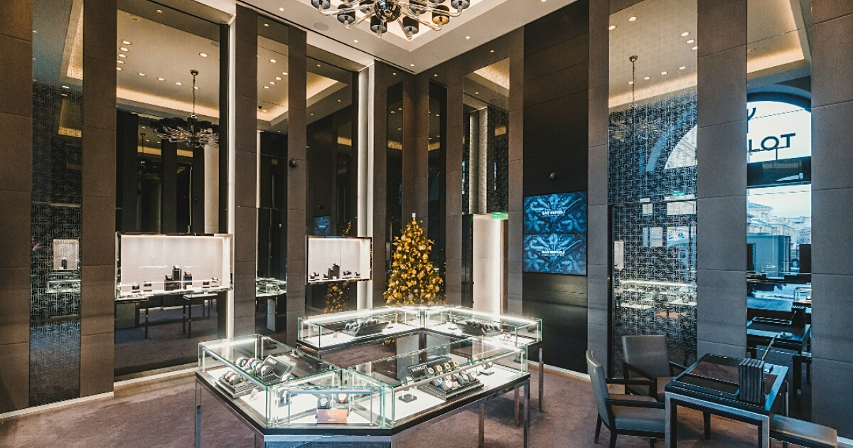 Hublot opens its second Boutique in the Russian Capital