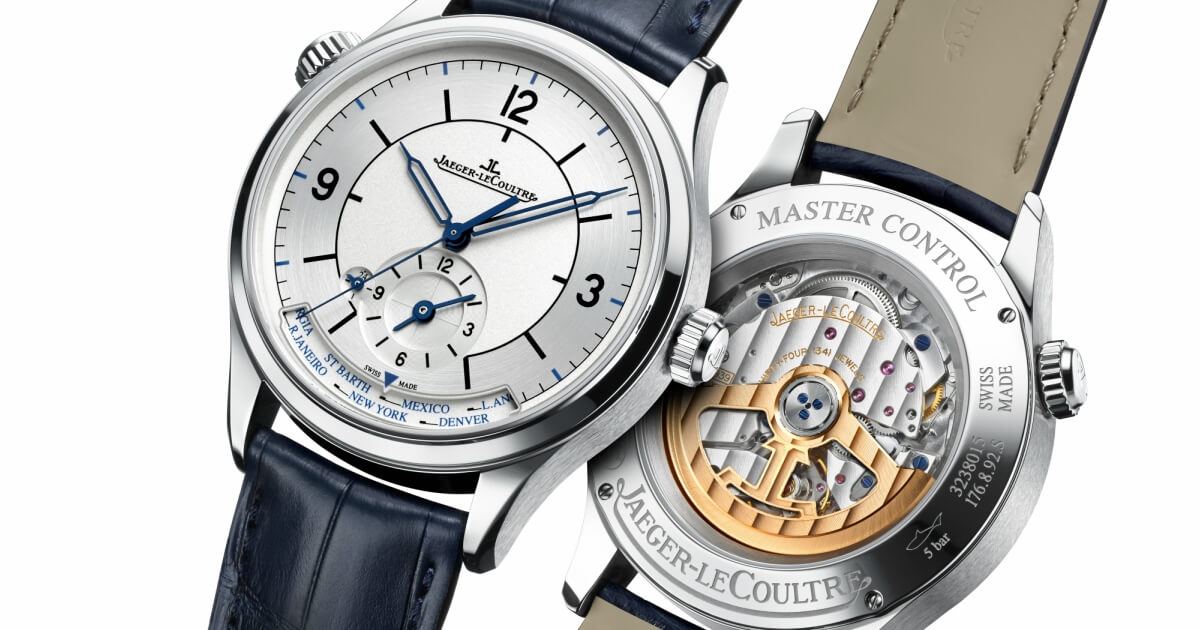 New Jaeger-LeCoultre Master Control line