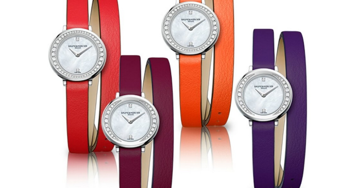 Baume & Mercier's Petite Promesse in Berry Colours