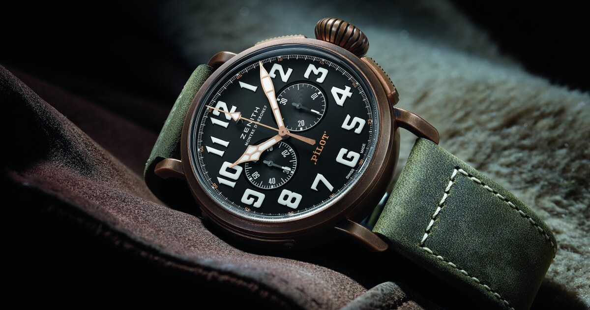 Zenith Pilot Collection: The Pilot Extra Special Chronograph