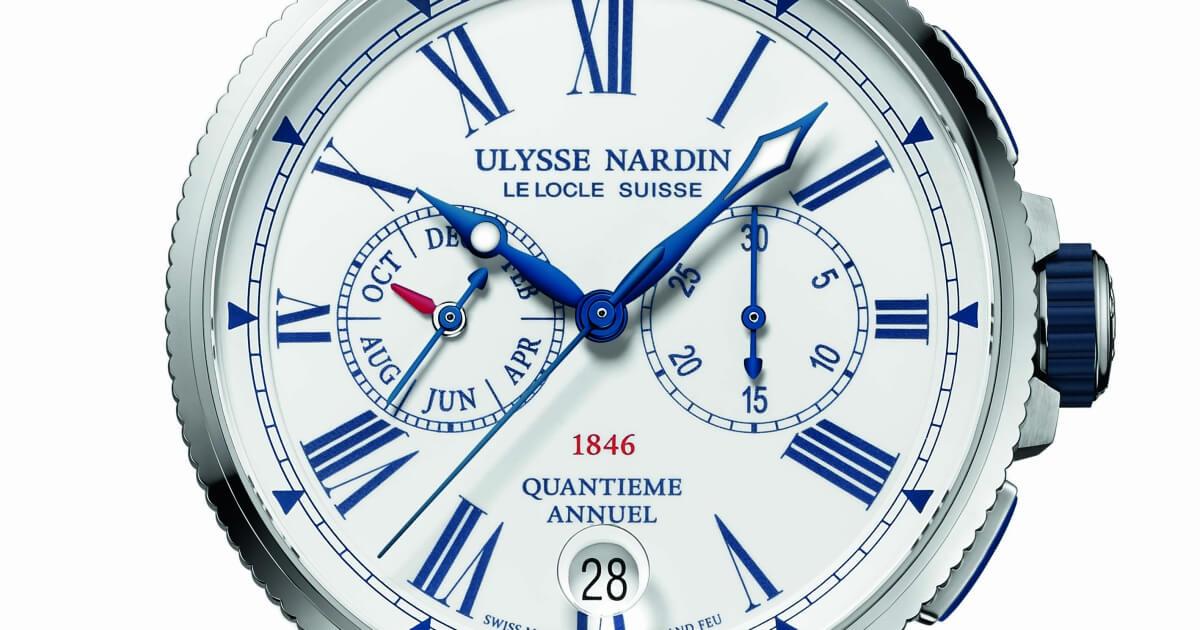 Ulysse Nardin Marine Annual Calendar Chronograph