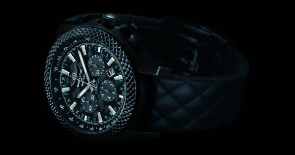 """Breitling Bentley GT """"Dark Sapphire"""" Edition"""