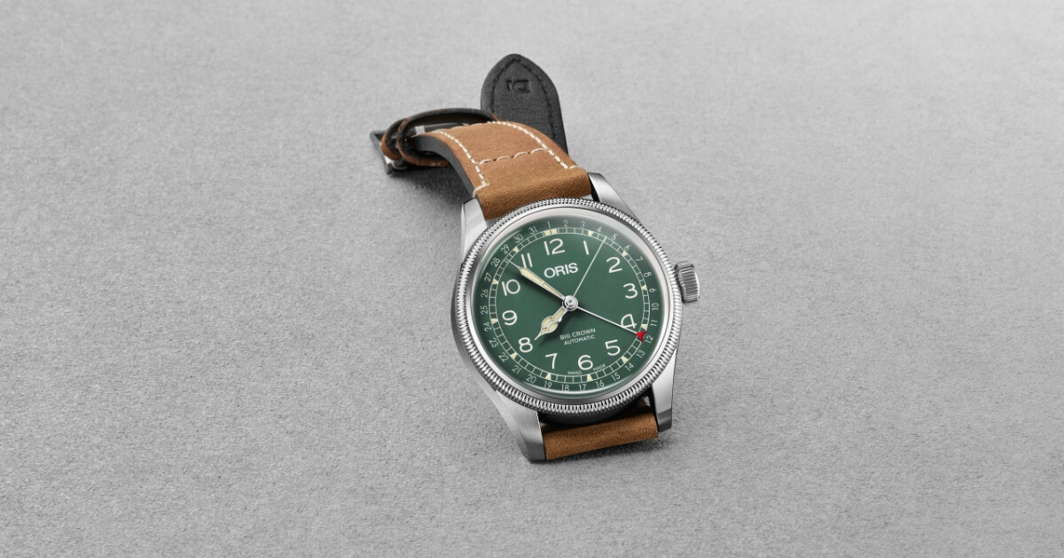 The New Oris Big Crown D.26 286 HB-RAG Limited Edition