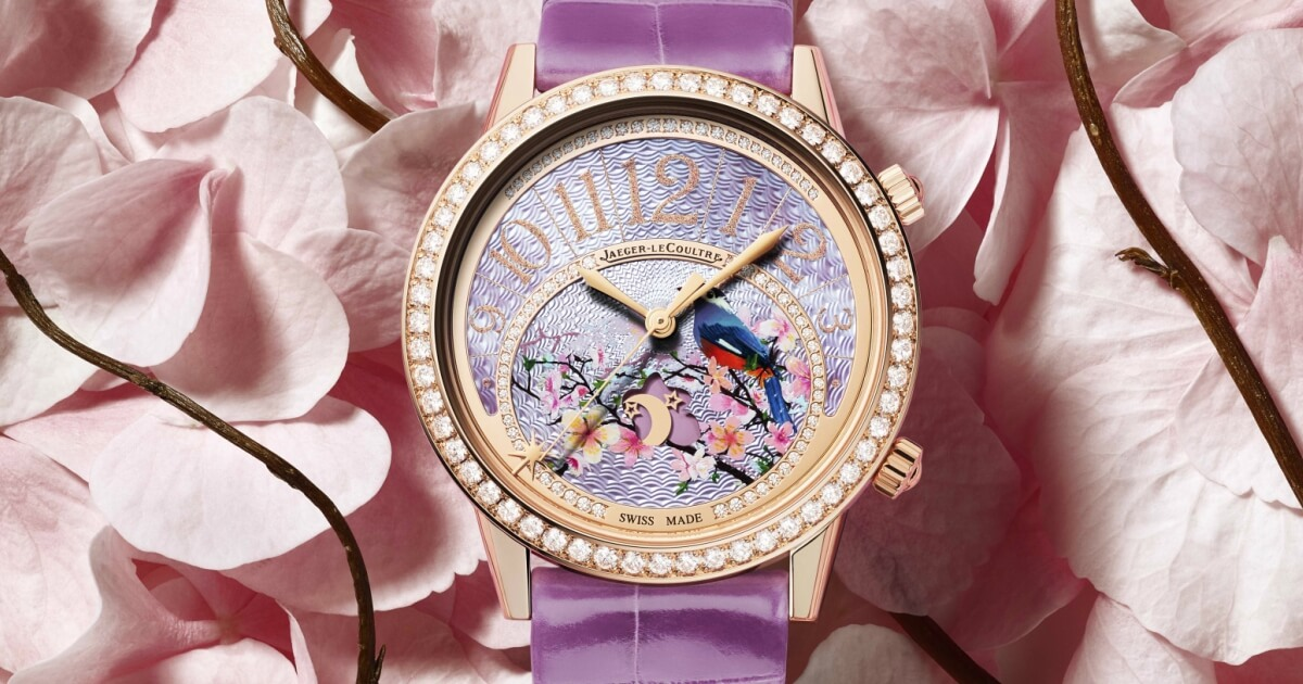 Jaeger-LeCoultre Three limited Editions of the Rendez-Vous Sonatina