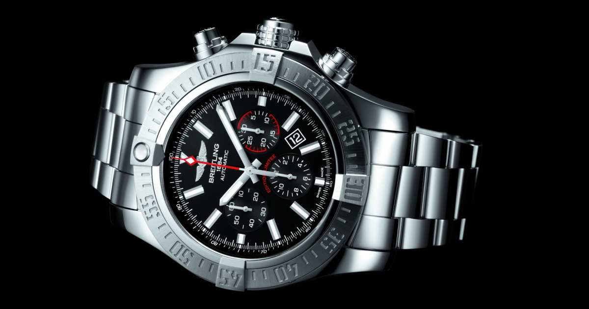 The New Breitling Super Avenger 01  Boutique Edition