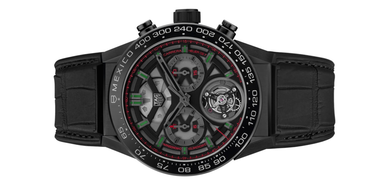 TAG Heuer Carrera Heuer-02T Limited Edition Mexico