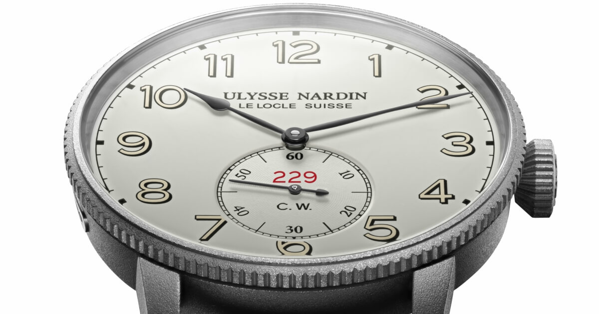 Introducing Ulysse Nardin  Marine Torpilleur Military – The Mark Of A Capitan