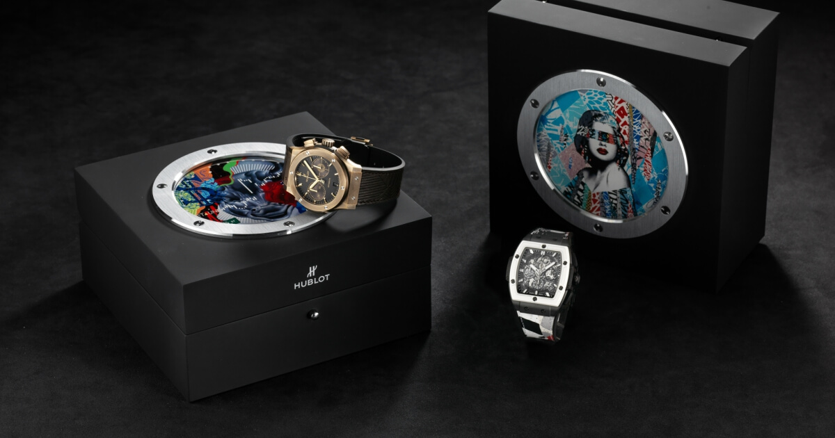 Hublot Partners With Street Artists Hush & Tristan Eaton In Celebration Of Fame Vs Fortune