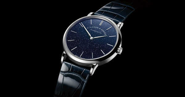 SIHH 2018: A. Lange & Söhne Saxonia Thin In Copper Blue