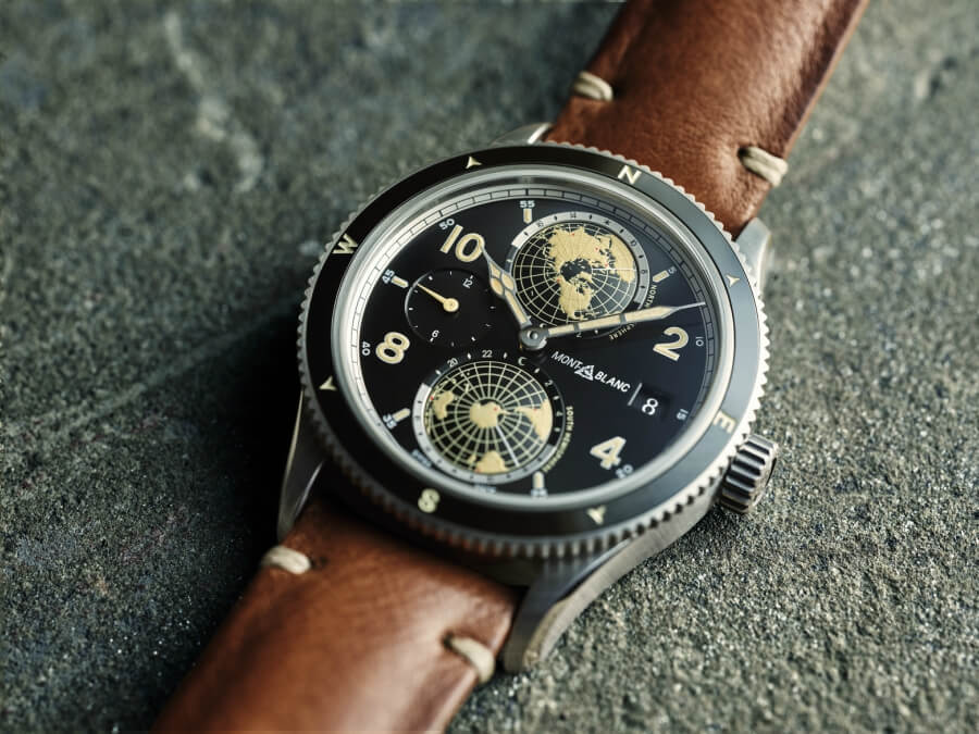Montblanc 1858 Geosphere Watch Review
