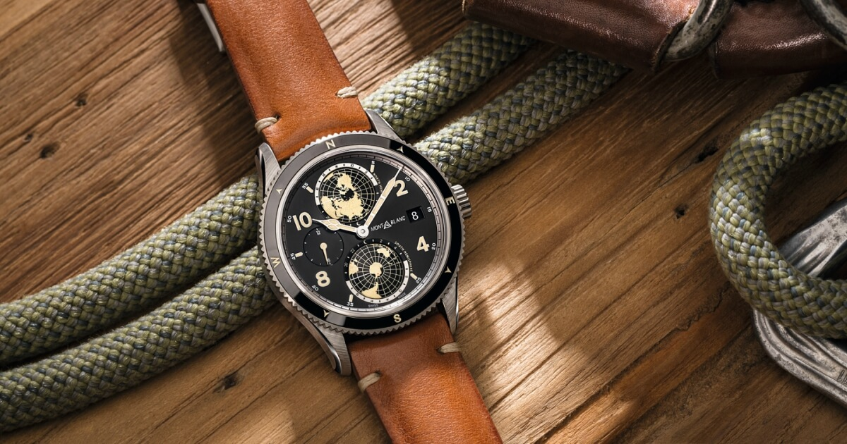 Montblanc 1858 Geosphere Limited Edition 1858