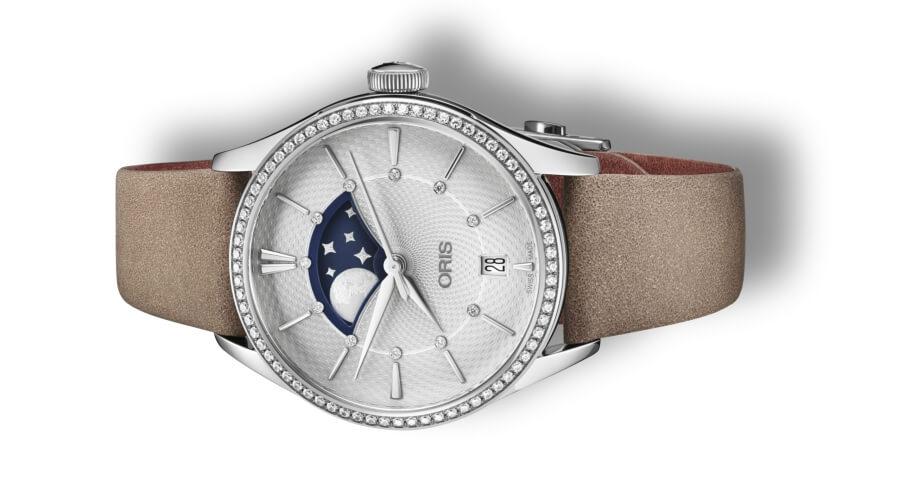 Oris Artelier Grande Lune, Date Diamonds
