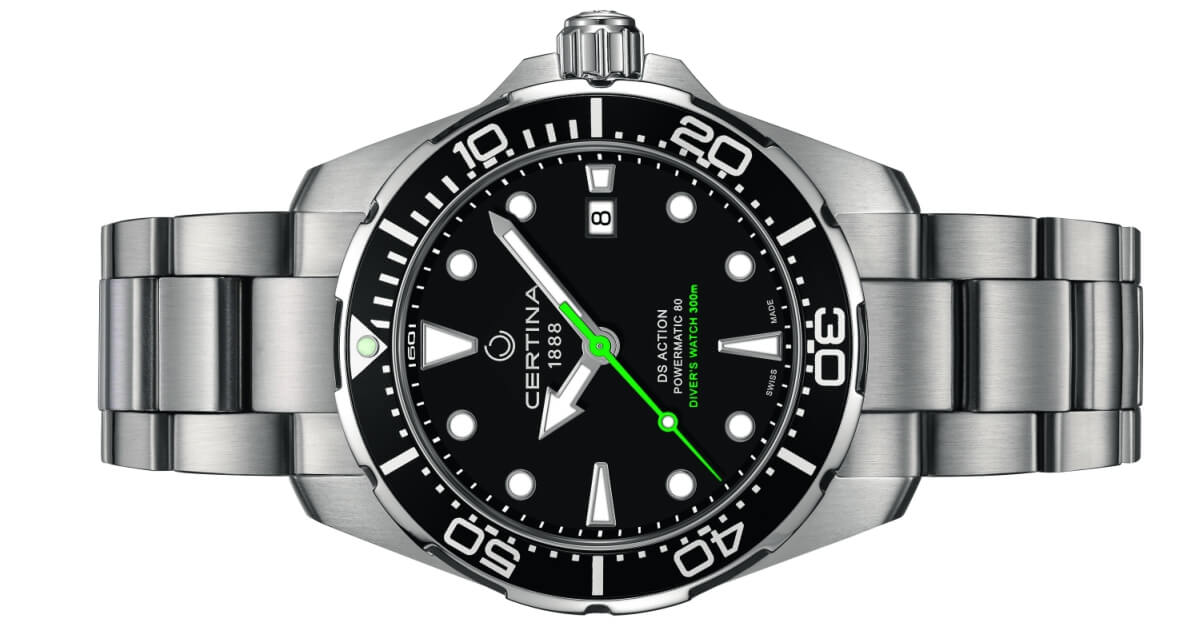 Pre Baselworld 2018: Certina DS Action Diver