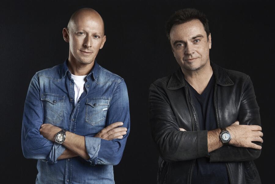 Marco Borraccino & Rob Dickinson