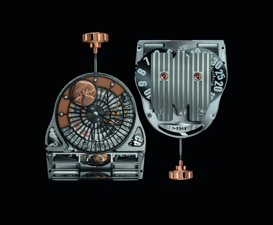 MB&F MoonMachine 2 Movement