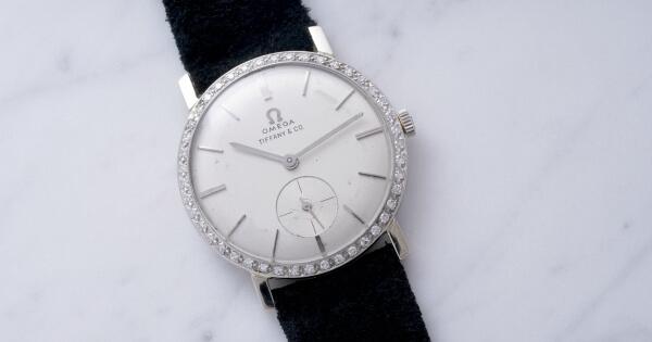 Elvis Presley's Omega Wristwatch, Retailed By Tiffany & Co.