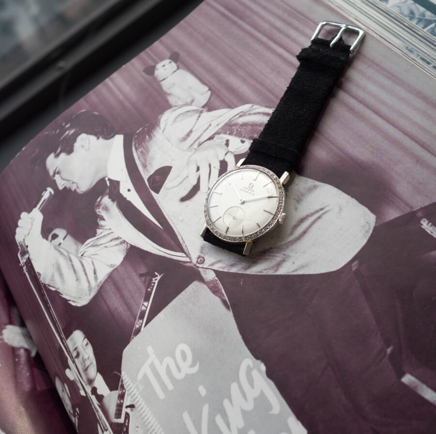 Omega Watch sold by Tiffany
