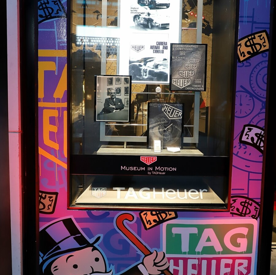 Miami Tag Heuer Exhibition