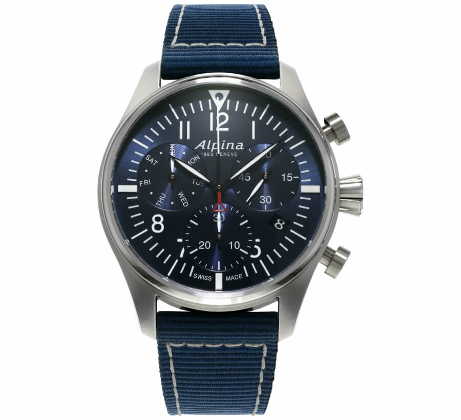 Alpina Pilot Chronograph Watch Review