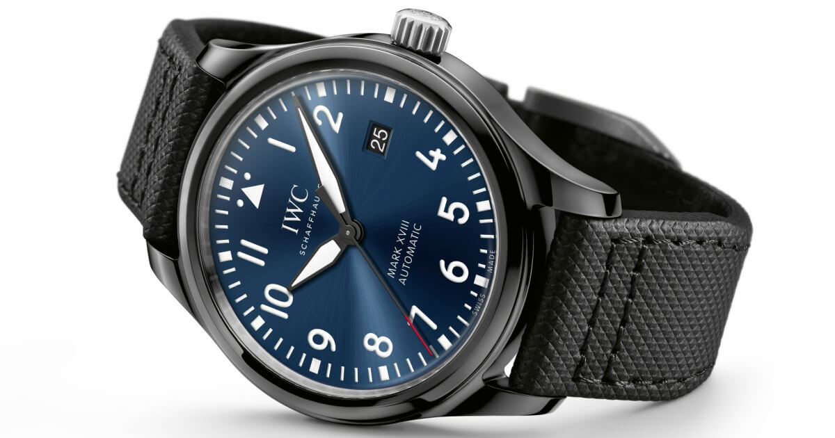 "IWC Mark XVIII Special Edition ""Laureus Sport for Good Foundation"""