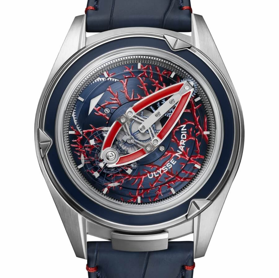 Ulysse Nardin Freak Vision Coral Bay Watch Review