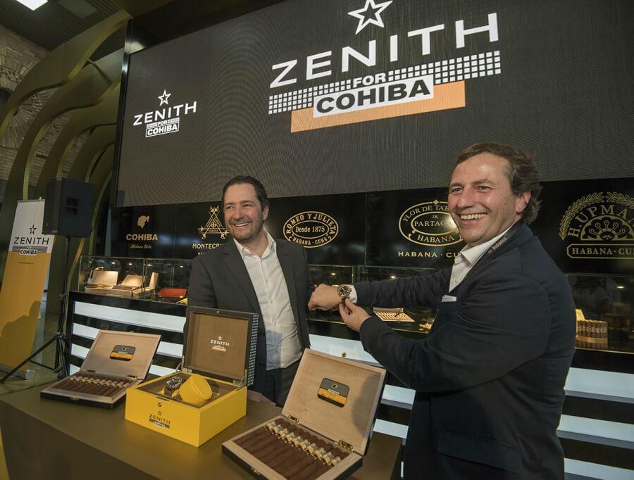 Zenith and Cohiba