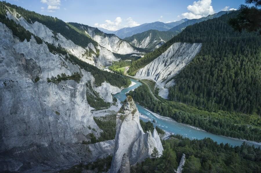Oris and River Rhine