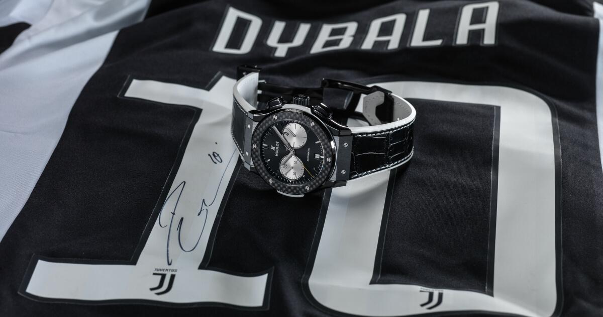 Hublot New Classic Fusion Chronograph Juventus