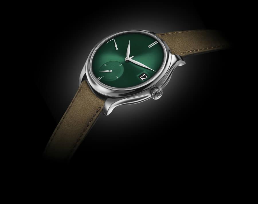 H. Moser & Cie. Endeavour Perpetual Calendar Purity Cosmic Green
