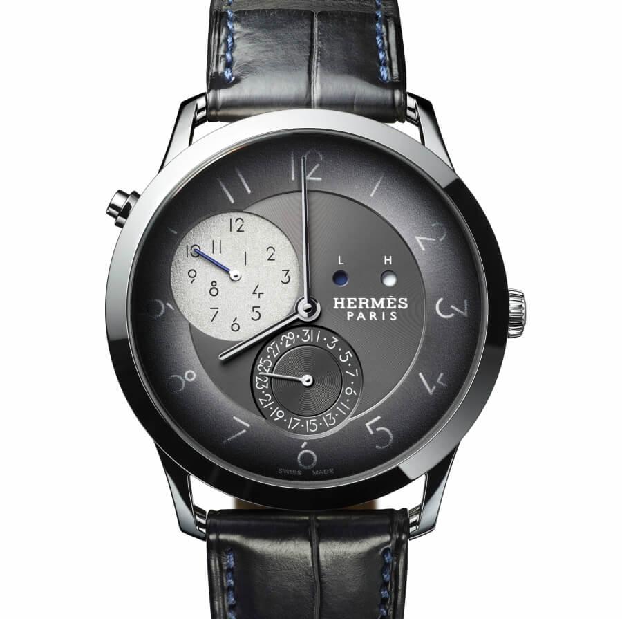 Hermes Slim d'Hermès GMT