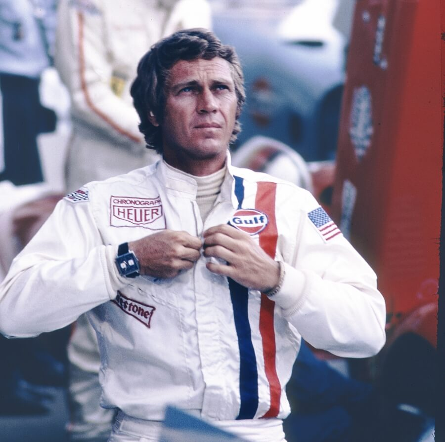 Steve McQueen and Tag Heuer