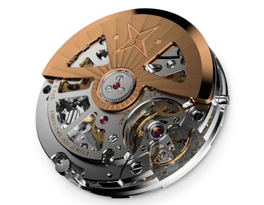 Chronograph Caliber With Column Wheel