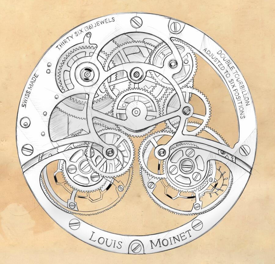 Louis Moinet Acasta & Dhofar_Movement