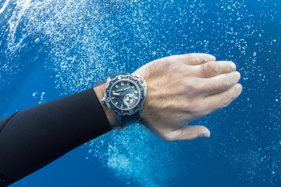 Ulysse Nardin Diver Deep Dive Watch Review