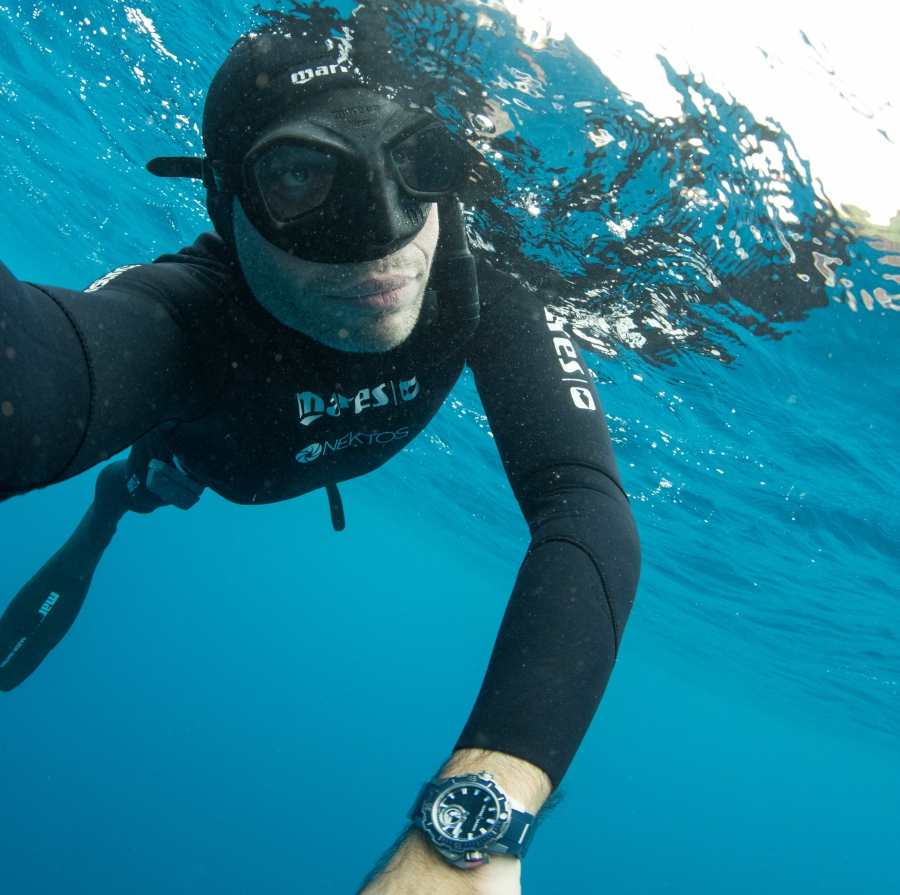 Ulysse Nardin Diver Deep Dive Free Diving