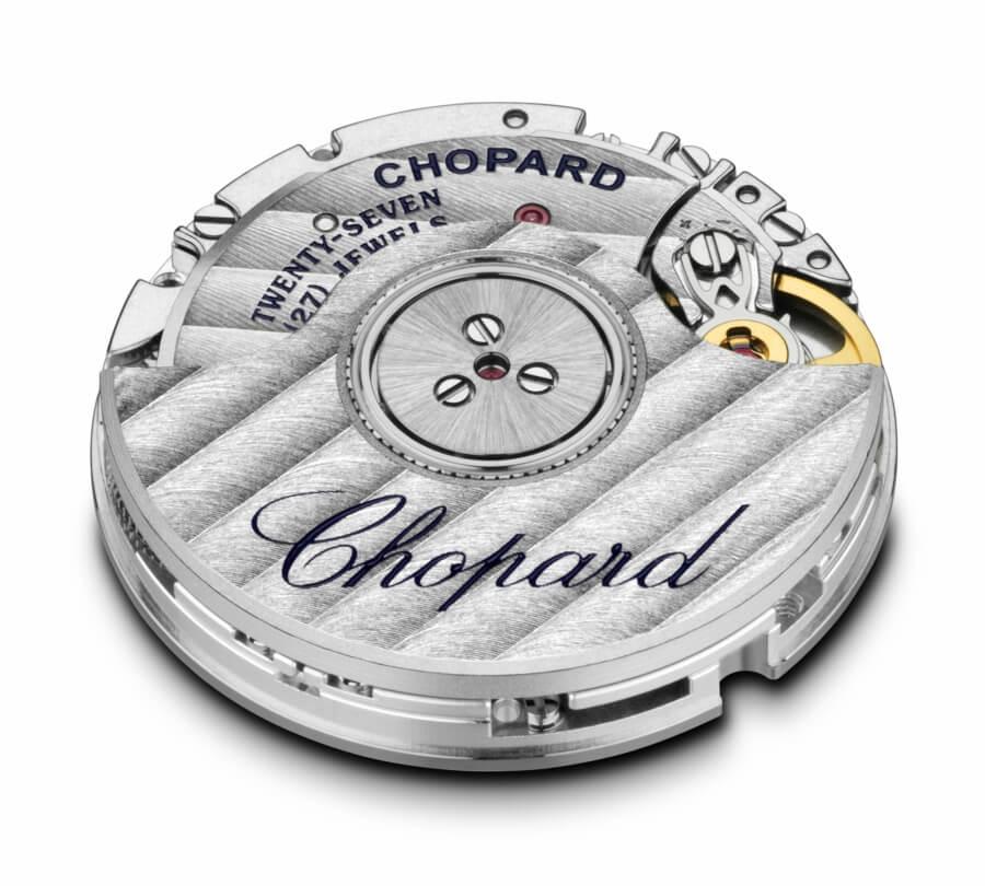 Mechanical self-winding: Chopard 09.01-C