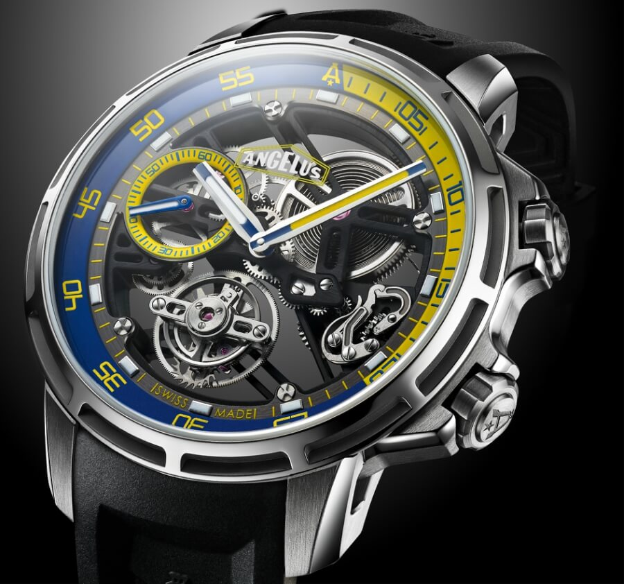 The New Angelus U50 Diver Tourbillon