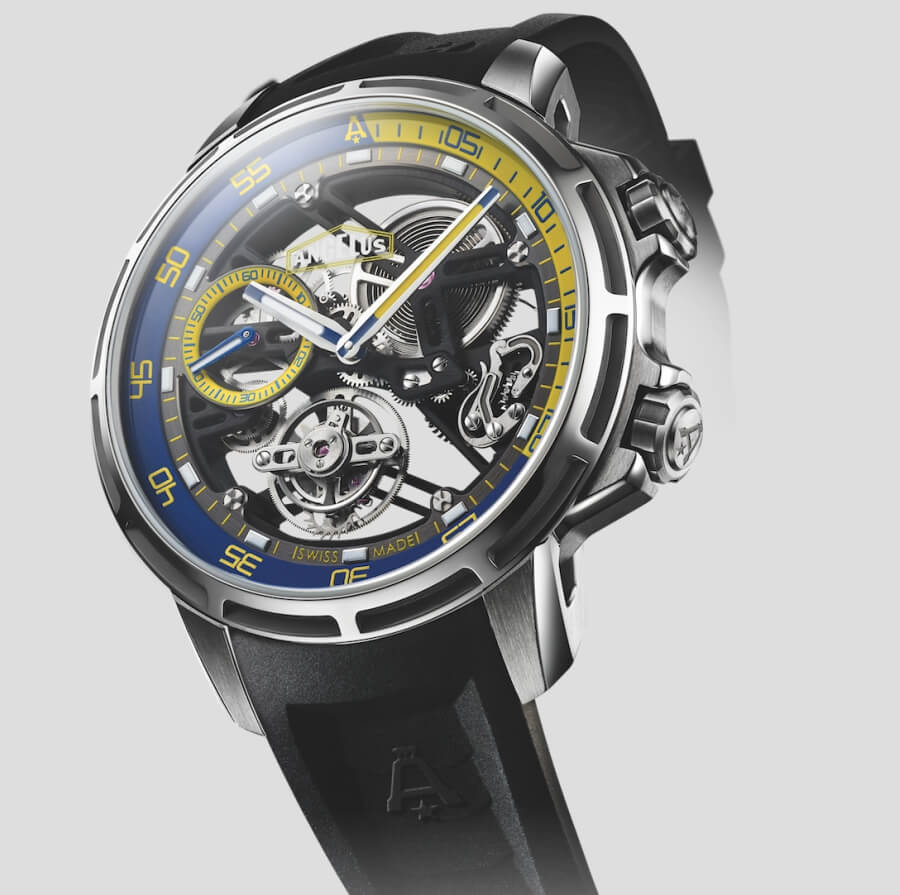 Angelus U50 Diver Tourbillon Watch Review