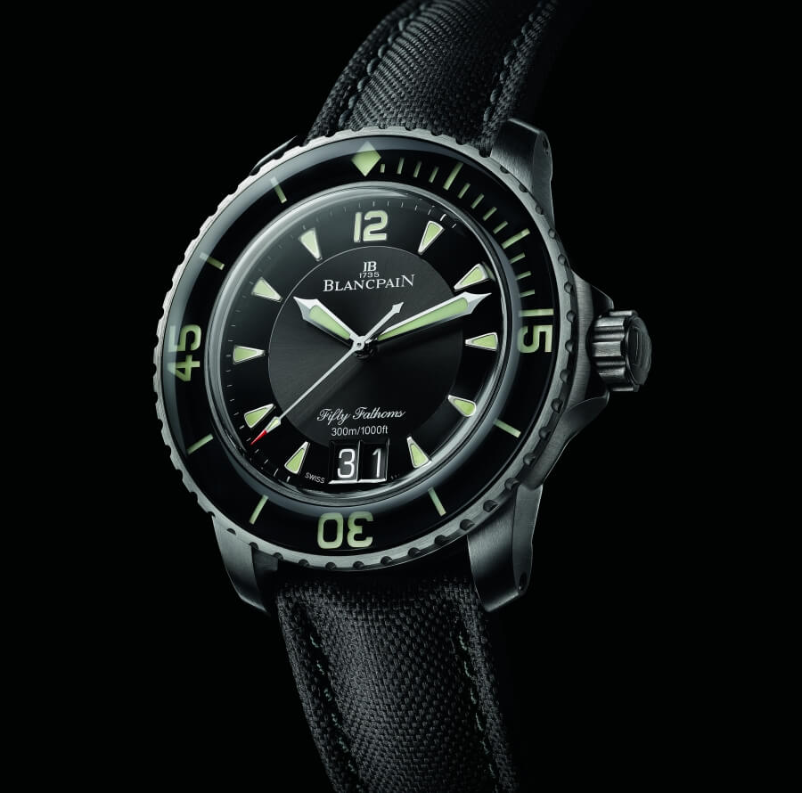 The New Blancpain Fifty Fathoms Grande Date