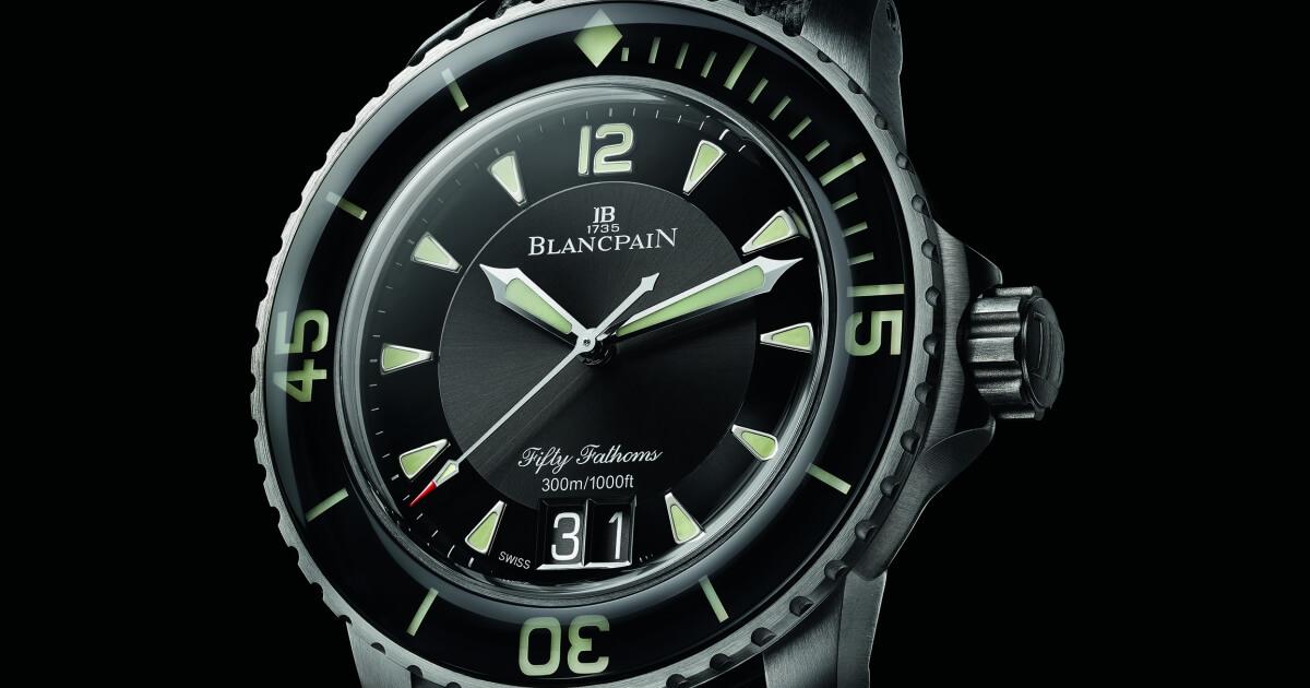 Blancpain Fifty Fathoms Grande Date Ref. 5050-12B30-B52A