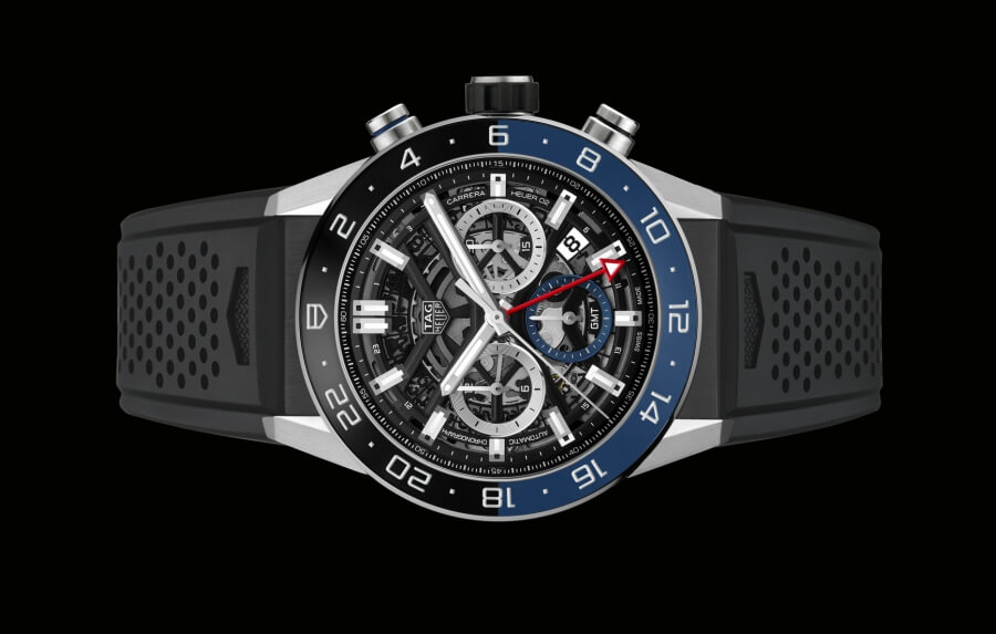 The New TAG Heuer Carrera Chronograph GMT