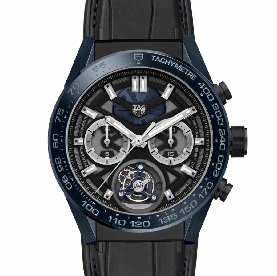 "Baselworld 2018 TAG Heuer Carrera ""Tête de Vipère"" Chronograph Tourbillon Chronometer"